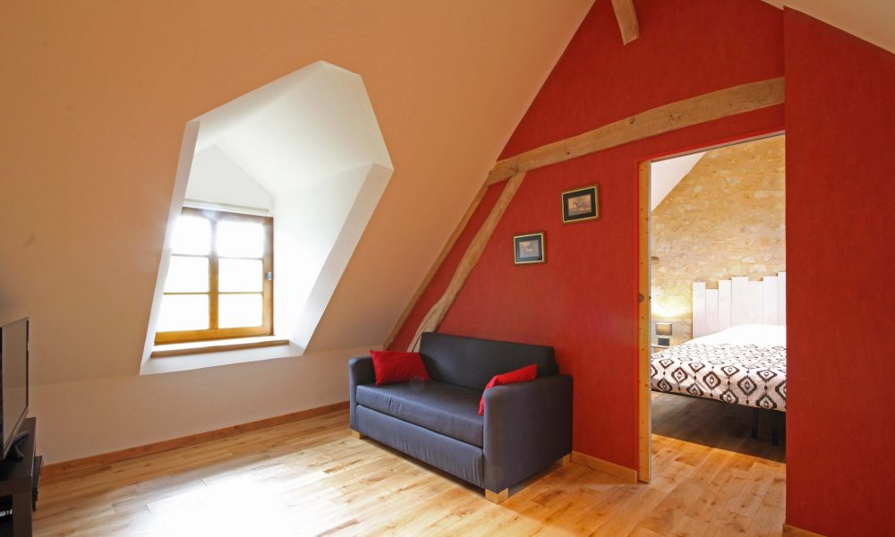 mezzanine canapé